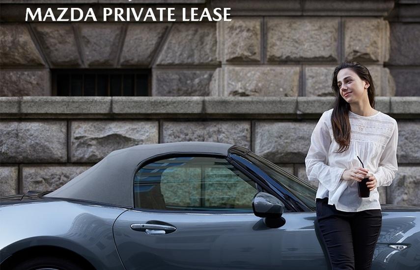 Mazda Private Lease - alles is inbegrepen Image